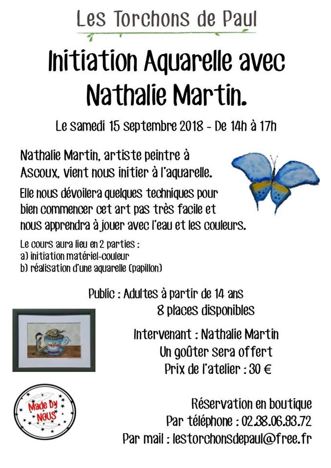 affiche cours initiation